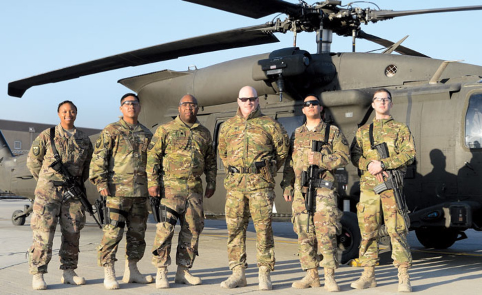 Air Force deployed lab keeps combat casualties alive